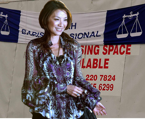 Michelle the film lady as BN candidate?
