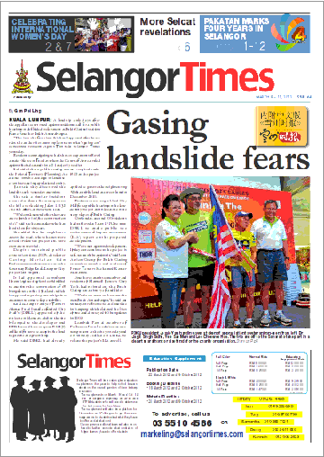Selangor Times 9 March 2012