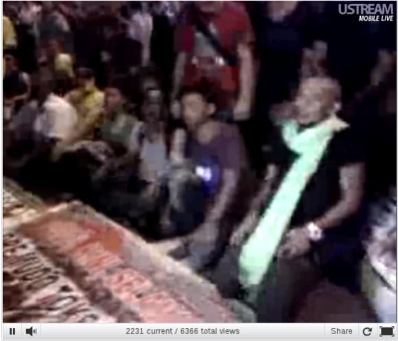 Live video stream from Bersih 3.0 Kuala Lumpur