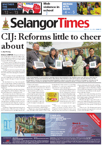 Selangor Times 18 May 2012 - Click to read online