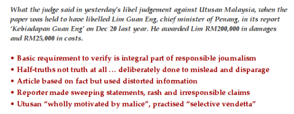 Penang high court condemns Utusan Malaysia for vendetta against Lim Guan Eng