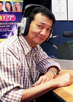 Music man...Alan Zachariah of Radio Malaysia, dead at 71