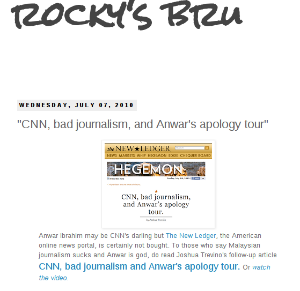 Hailed by Umno bloggers - the RM1.1mil propaganda writer