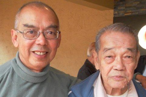Michael Foong and John Khoo, former NST chief sub-editors