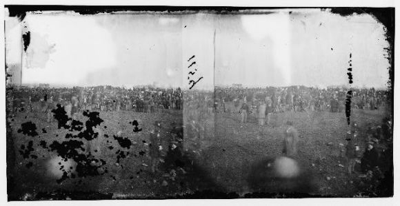 Dedication ceremonies at Gettysburg