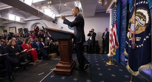 Obama's final White House press conference, Jan 18, 2017