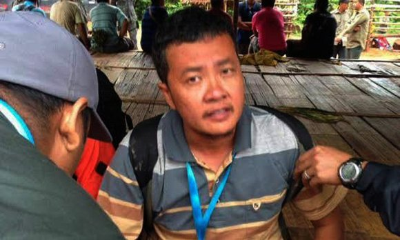 Jules Ong was arrested in Kelantan while covering anti-logging protests.